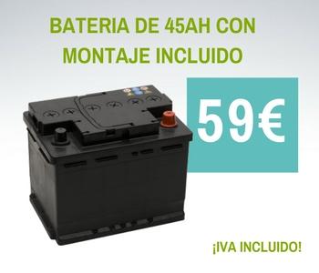 oferta cambio de batería en taller Borauto en Oliva, Valencia