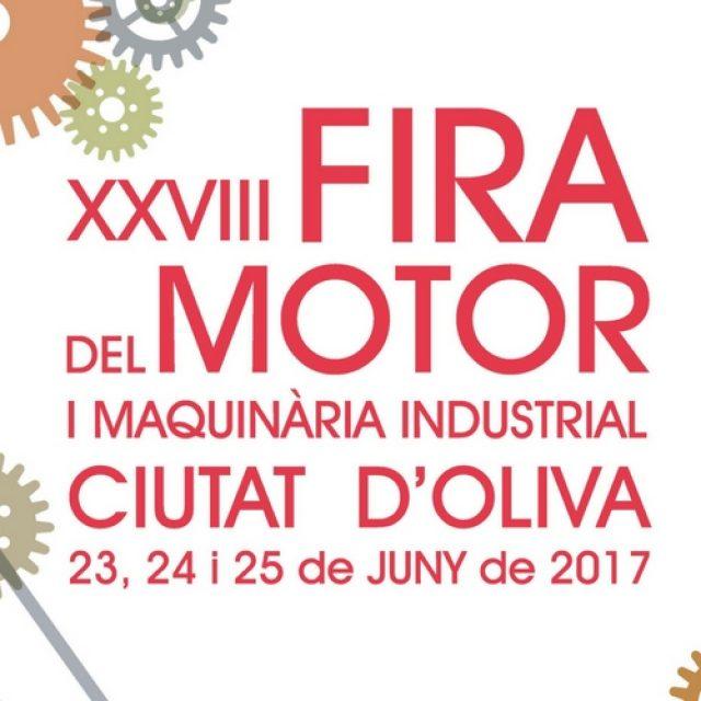 Estaremos en la Feria del motor de Oliva