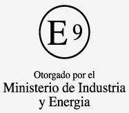 Homologación otorgada por el Ministerio de Industria y Energia ISO 14001