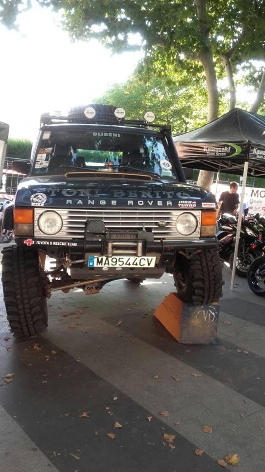 exposición coche feria motor oliva